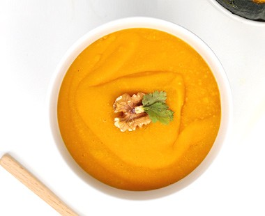 Sweet pumpkin & Potato soup